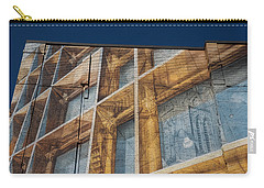 Three Dimensional Optical Illusions - Trompe L'oeil On A Brick Wall Carry-all Pouch