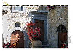Three Doors In Bagnoregio Carry-all Pouch