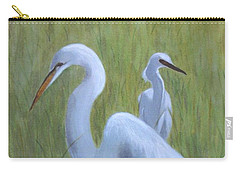 Three Egrets  Carry-all Pouch