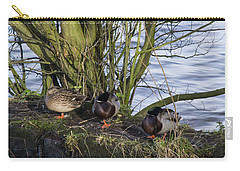 Three In A Row Carry-all Pouch by Spikey Mouse Photography