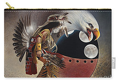 Three Moon Eagle Carry-all Pouch