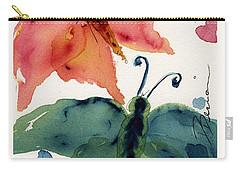 Three Moths II Carry-all Pouch by Dawn Derman