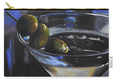 Three Olive Martini Carry-all Pouch by Donna Tuten