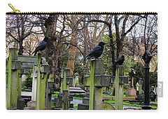 Three Ravens Carry-all Pouch