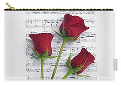 Three Rose Music Duvet Carry-all Pouch