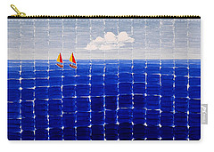 Three Sail Boats #2 Carry-all Pouch