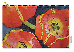 Three Sisters Carry-all Pouch by Beverley Harper Tinsley