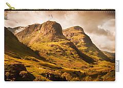 Three Sisters. Glencoe. Scotland Carry-all Pouch