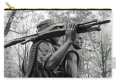 Three Soldiers In Vietnam Carry-all Pouch