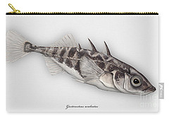 Three-spined Stickleback Gasterosteus Aculeatus - Stichling - L'epinoche - Espinoso - Kolmipiikki Carry-all Pouch