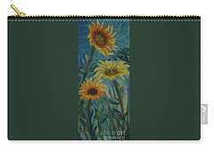 Three Sunflowers - Sold Carry-all Pouch