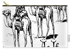 Three Wise Men ... As If  Carry-all Pouch by Tracey Harrington-Simpson