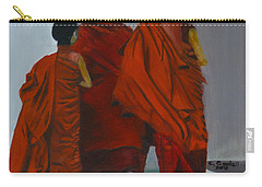 Three Young Monks Carry-all Pouch