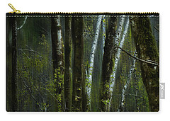 Carry-all Pouch featuring the photograph Through A Glass . . . Darkly by Belinda Greb