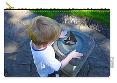 Carry-all Pouch featuring the photograph Through The Eyes Of A Child by Charlie and Norma Brock