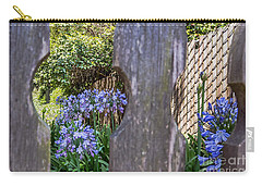 Carry-all Pouch featuring the photograph Through The Fence by Kate Brown