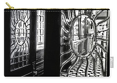 Through The Lookinglass And Onto The Checkerboard Carry-all Pouch by Robert McCubbin