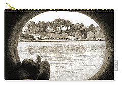 Through The Porthole Carry-all Pouch by Holly Blunkall