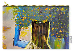 Through The Window Carry-all Pouch by Pamela  Meredith