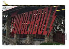 Thunderbolt Roller Coaster Carry-all Pouch