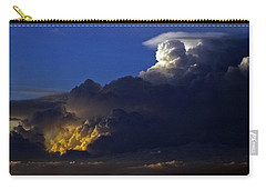 Carry-all Pouch featuring the photograph Thunderstorm II by Greg Reed