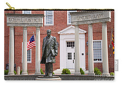 Thurgood Marshall Statue - Equal Justice For All Carry-all Pouch