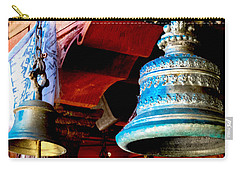 Tibetan Bells Carry-all Pouch by Greg Fortier