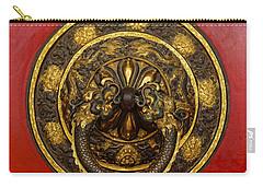 Tibetan Door Knocker Carry-all Pouch