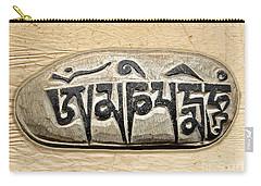 Tibetan Mani Stone - Om Mani Padme Hum Carry-all Pouch