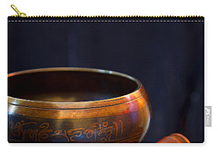 Tibetan Singing Bowl Carry-all Pouch