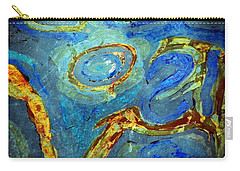 Tickled Carry-all Pouch by Leanna Lomanski