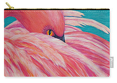 Tickled Pink Carry-all Pouch by Susan DeLain