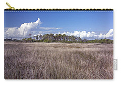 Carry-all Pouch featuring the photograph Tidal Marsh On Roanoke Island by Greg Reed