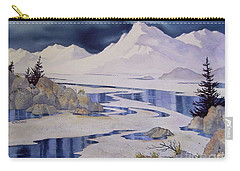 Tidal Patterns Iv Carry-all Pouch