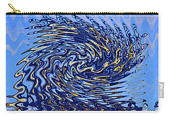 Carry-all Pouch featuring the photograph Tidal Wave by Gary Holmes