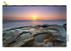 Tide Pool Sunset Carry-all Pouch