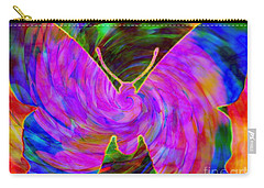 Tie-dye Butterfly Carry-all Pouch