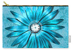 Tiffany Blue And Diamonds Too Carry-all Pouch