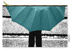 Tiffany Blue Umbrella Carry-all Pouch