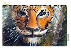 Tiger Carry-all Pouch by Bernadette Krupa