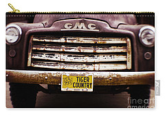 Tiger Country - Purple And Old Carry-all Pouch by Scott Pellegrin