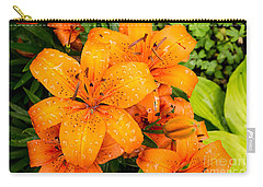 Tiger Lily After Morning Rain Carry-all Pouch