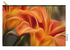 Tiger Lily Carry-all Pouch by Bill Wakeley