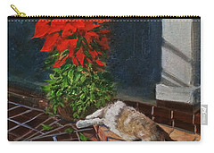 Tiger Lily In Repose Carry-all Pouch