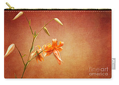 Tiger Lily Carry-all Pouch by Lena Auxier