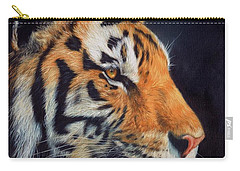Tiger Profile Carry-all Pouch