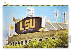 Tiger Stadium Carry-all Pouch by Scott Pellegrin