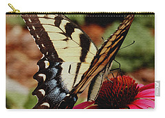 Carry-all Pouch featuring the photograph Tiger Swallowtail  by James C Thomas