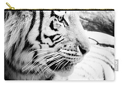 Carry-all Pouch featuring the photograph Tiger Watch by Erika Weber