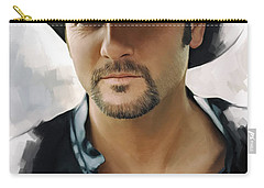 Tim Mcgraw Artwork Carry-all Pouch